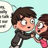 10 illusztráció arról, milyen egy szarkasztikus emberrel randizni