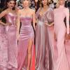 20 sztár, 20 tündöklő rózsaszín estélyi ruha