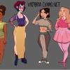 A Disney hercegnők ezúttal modern tinédzserekké változtak!