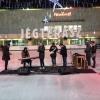A jégen forgatott klipet Puskás Peti együttese
