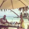 A Maldív-szigeteken nyaral Berki Krisztián és Hódi Pamela