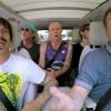 A Red Hot Chili Peppersszel carpool karaoke-zott James Corden
