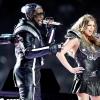 A The Black Eyed Peas fergeteges show-t adott