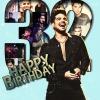Adam Lambert egyedi festményt tervezett születésnapjára