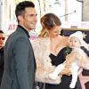 Adam Levine kislánya ellopta a show-t a zenész csillagának felavatásakor