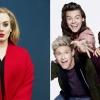 Adele lekörözte a One Directiont