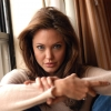 Angelina Jolie mint Kleopátra