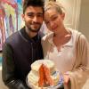 Anyu és apu együtt: így ünnepelt Gigi Hadid és Zayn Malik