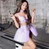 Apró baleset történt Ariana Grandéval a Rain On Me klipforgatásán