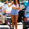 Ariana Grande forgatja új videoklipjét