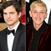 Ashton Kutcher kiállt Ellen DeGeneres mellett