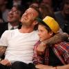 Autóbalesetet szenvedett David Beckham és fia
