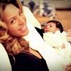 Beyoncé megmutatta kislányát