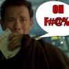 Beperelik Tom Hankset káromkodása miatt?