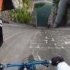 Betonfalon biciklizett le, majd egy darabban ért földet a szlovén srác