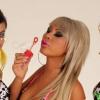 Bikiniben a három VV-lány