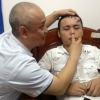 Bizarr: orr nőtt a homlokára egy kínai férfinak!