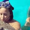 Cápákkal és rájákkal úszkált Demi Lovato