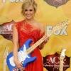 Carrie Underwood tarolt az ACA-díj-átadón