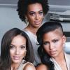Cassie, Solange és Selita egy kampányban