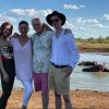 Catherine Zeta-Jones ritka fotót posztolt: családjával közösen pózolt