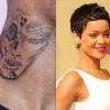 Chris Brown nyakára tetováltatta az összevert Rihannát?