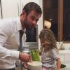 Chris Hemsworth lánya fiú akar lenni