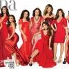 Címlapon a latin szépségek