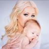 Címlapsztár lett Christina Aguilera kislánya