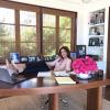 Cindy Crawford megmutatta, hogyan dolgozik valójában otthonról
