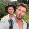 Csodaszép helyen nyaraltak a Hemsworth testvérek