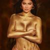 Csupán aranypor borítja Kylie Jennert új fotóján