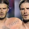 David Beckham magára varratta lánya nevét