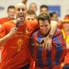 David Villa Fàbregas-fanklubot alapított