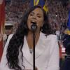 Demi Lovato  mindenkit lenyűgözött azzal, ahogy a himnuszt énekelte a Super Bowlon