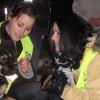 Dér Heni hajléktalanokon és kutyáikon segített