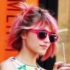 Dianna Agron rózsaszín lett
