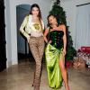 Divatkatasztrófa a Kardashian partin: mindenki Kim Kardashian furcsa Hulk szereléséről beszél