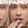 Döbbenetesen gyönyörű Christina Aguilera fedetlen arccal a Paper magazin címlapján