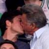 Dustin Hoffman pasival csókolózott