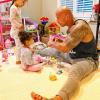 Dwayne Johnson irtó cuki videót osztott meg kislányáról