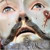 Egy mexikói Jézus-szobornak emberi fogai vannak