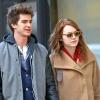 Egy párt alkot Emma Stone és Andrew Garfield