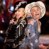 Együtt lépett fel Miley Cyrus és Madonna