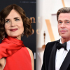 Elizabeth McGovern azt állítja, ő tanította meg Brad Pittet csókolózni
