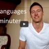 Elképesztő! Ez a srác 19 nyelven beszél egyetlen videóban