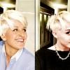 Ellen DeGeneres is Miley Cyrus-féle hajat vágatott