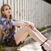 Emma Roberts frizurát váltott