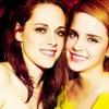 Emma Watson kiáll Kristen Stewart mellett
