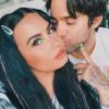 Fél éve együtt! Demi Lovato köszönetet mondott vőlegényének